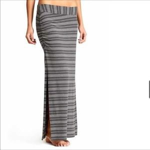 BNWT. ATHLETA. Serafina striped Maxi Skirt XS